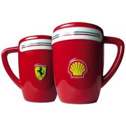 Caneca de café Vermelha Ferrari Presente Criativo