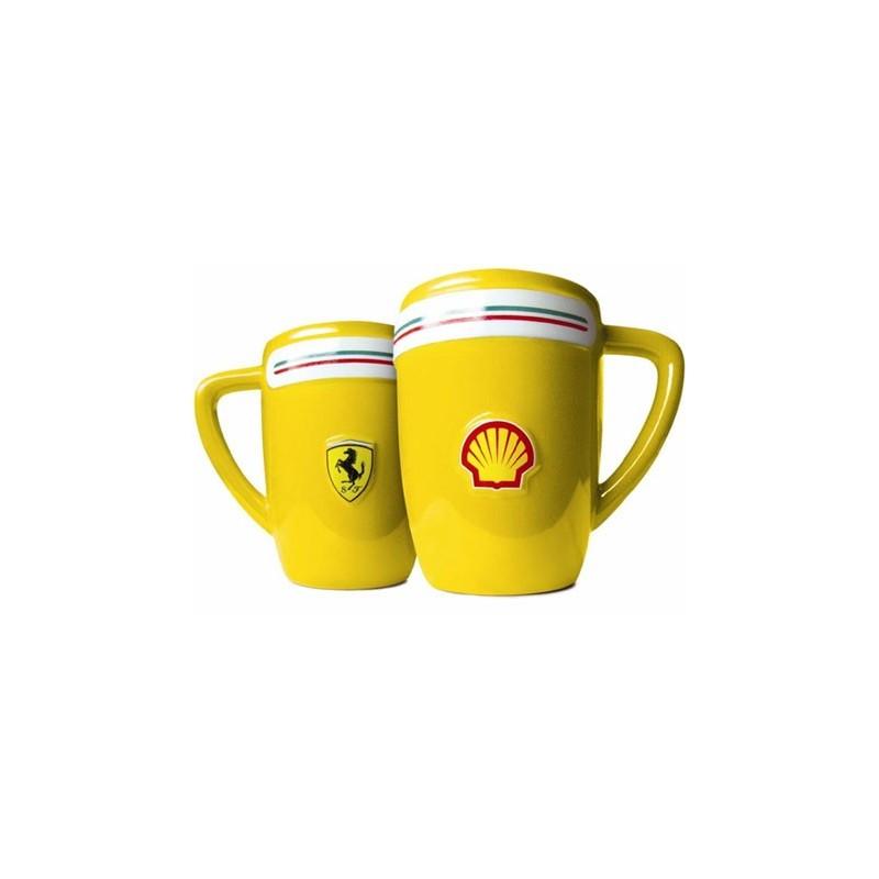 Caneca de café Amarela Ferrari Presente Criativo