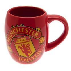 Caneca de café Vermelha Manchester United FC Presente Criativo