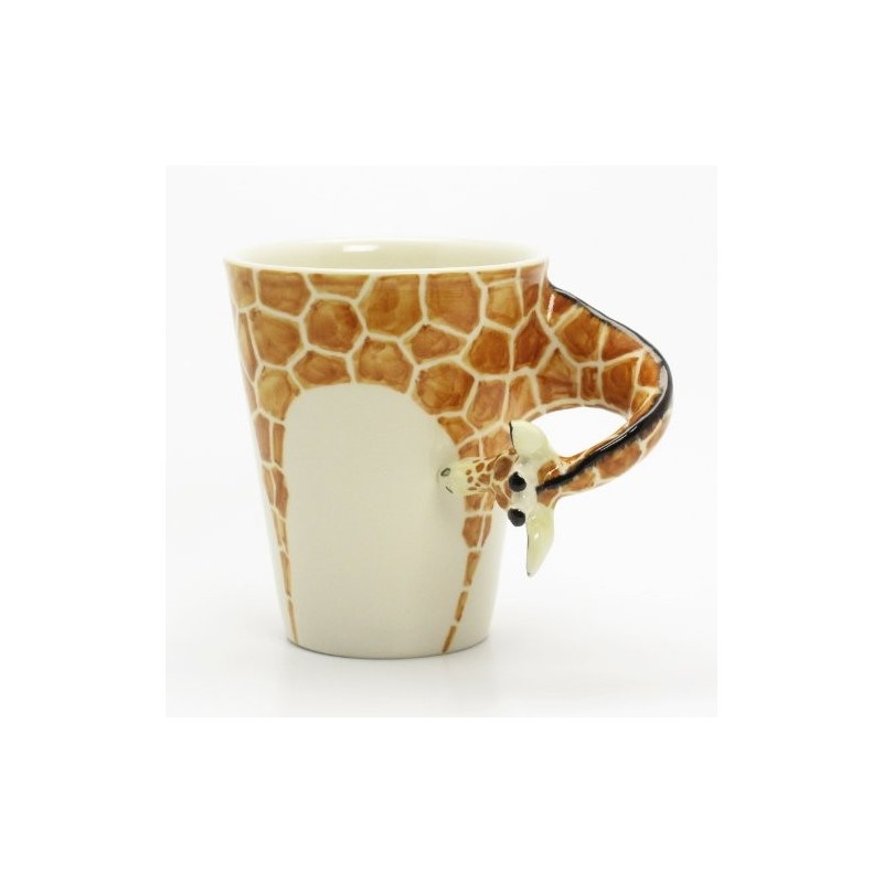 Caneca de café Animais Girafa Presente Criativo