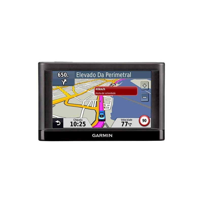 """GPS Garmin Nüvi 42LM Tela 4.3"""" com Atualização de Mapas Grátis e Alerta de Velocidade"""