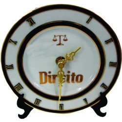 Relógio de Mesa Profissões Formatura Direito Advogados