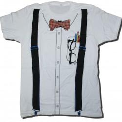 Camiseta Nerd Branca Divertida