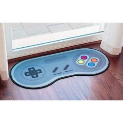 Tapete Capacho de Porta Criativo Joystick Controle de Nintendo