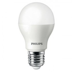 Lâmpada LED Philips Bulbo 7W Branca 250V
