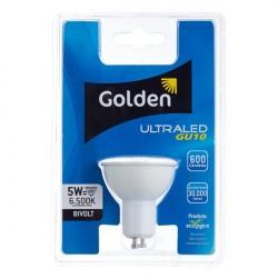 Lâmpada LED Golden Dicróica 5W Branca Bivolt