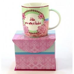 Caneca Mães Personalizada com Caixinha Dia das Mães