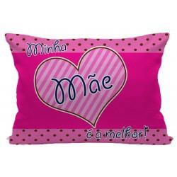 Fronha Personalizada Mãe Pink Presente Dia das Mães