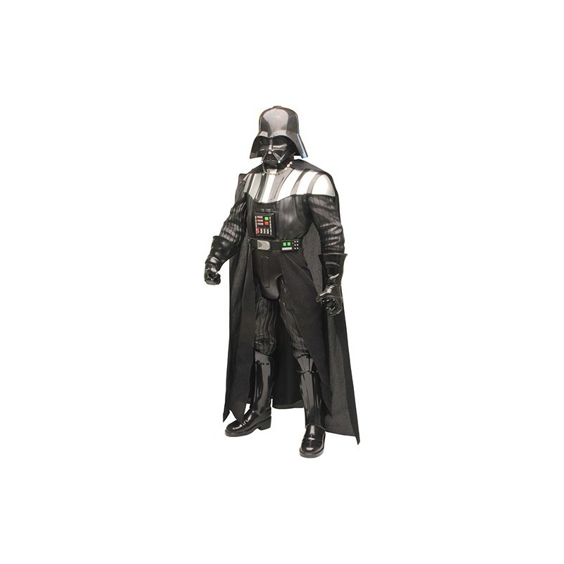 Boneco Articulado Darth Vader Gigante 79cm Deluxe com Sabre de Luz