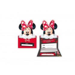 Convite de Aniversário da Minnie Decoração Festa Infantil