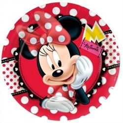 Pratinho de Bolo da Minnie Decoração Festa Infantil