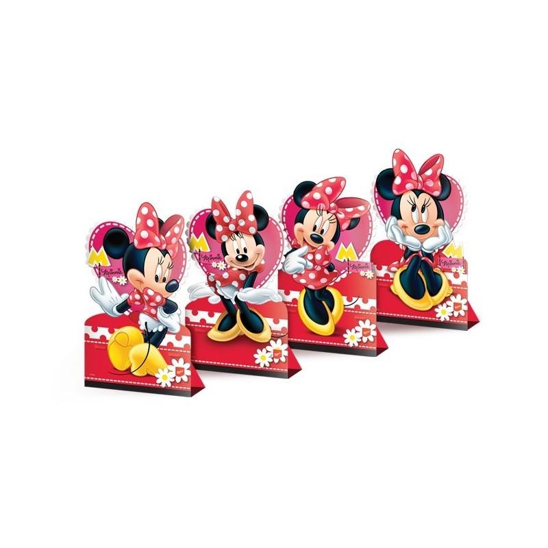 Enfeite para Decoração de Mesa Minnie para Festa Infantil