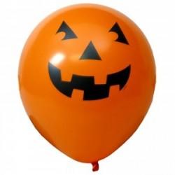 Balão Bexiga Abóbora Laranjada Decoração Halloween