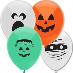 Balão Bexiga Monstros Decoração Halloween