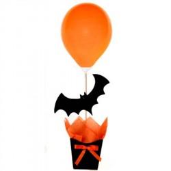 Enfeite de Mesa Morcego Decoração Festa Halloween