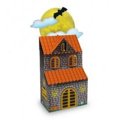 Enfeite de Mesa Casa Mal Assombrada Decoração Festa Halloween
