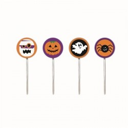 Enfeite Cupcake Bruxa Doces Decoração Festa Halloween