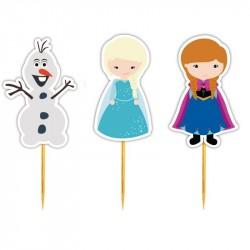 Enfeite Cupcake Frozen Olaf Doces Decoração Festa Infantil