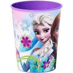 Copinho de Plástico para Festa Infantil Tema Frozen 24un