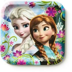 Pratinho de Bolo Frozen Festa Infantil Tema Frozen 10un