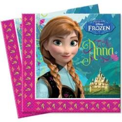 Guardanapo Anna Frozen Festa Infantil Tema Frozen 50un