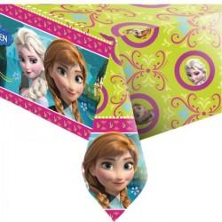 Tolha de Mesa Quadrada Frozen Festa Infantil Tema Frozen 1un