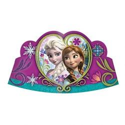 Coroa de Papel Frozen Festa Infantil Tema Frozen 10un