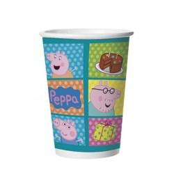 Copo Descartável Peppa Pig Festa Infantil