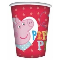 Copo Descartável Peppa Pig Pink Festa Infantil
