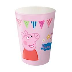 Copo Descartável Peppa Pig Cor de Rosa Festa Infantil