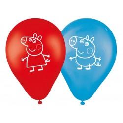 Bexiga Balão Peppa Pig Látex Festa Infantil