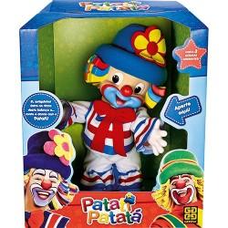 Boneco Palhacinho Patati - Canta e Dança