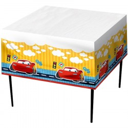 Toalha Plástica Disney Carros para Mesa dos Convidados Festa Infantil