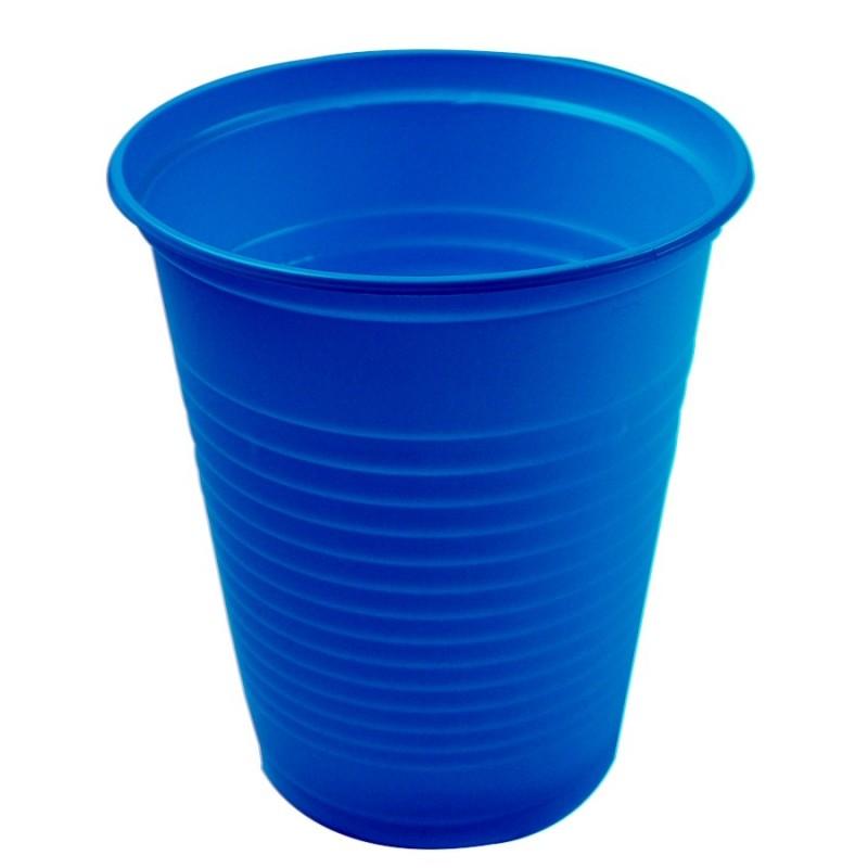 Copo Plástico Descartável Azul Festa Infantil 24un