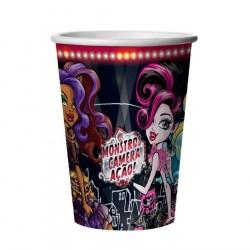 Copo Monster High Papel Descartável 24un