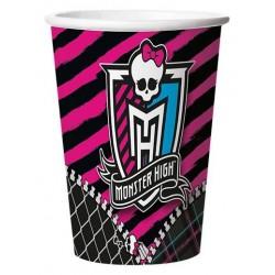 Copo Descartável Monster High Papel 24un