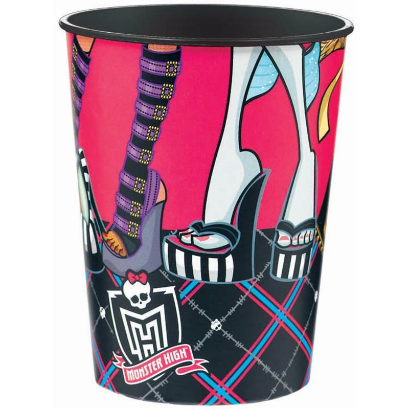 Copo Descartável Plástico Monster High 24un Festa Infantil
