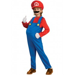 Fantasia Infantil Super Mario Broz Meninos Carnaval Halloween