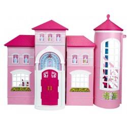 Casa de Malibu da Barbie Cenário em 3D Pura Magia e Diversão
