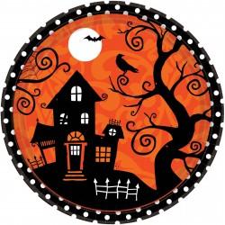 Pratinho Descartável Festa Halloween 10un