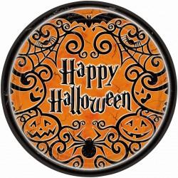 Pratinho Descartável Festa Feliz Halloween 10un