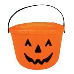 Porta Doces de Abóbora Halloween Doces ou Travessuras
