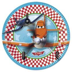 Pratinho Descartável Disney Aviões Festa Infantil 10un