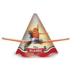 Chapeuzinho de Papel Disney Aviões Festa Infantil Meninos 24un