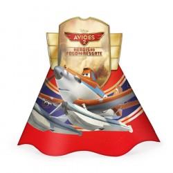 Chapeuzinho de Aniversário Disney Aviões Festa Infantil Meninos 24un