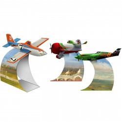 Enfeites de Mesa Disney Aviões Festa Infantil Meninos