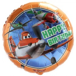 Balão Metalizado Aviões Festa Infantil Meninos