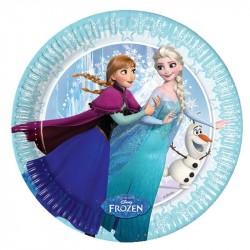 Pratinho de Bolo Descartável Disney Frozen