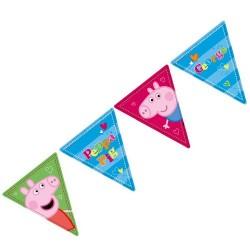 Bandeirinhas Decorativas Peppa Pig Festa Infantil