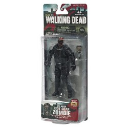 Boneco The Walking Dead Personagem Zumbi com Máscara de Gás